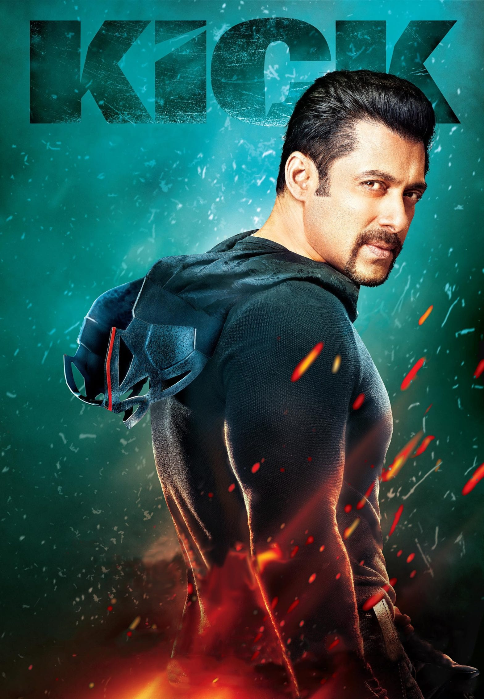 """Poster for the movie """"Kick"""""""