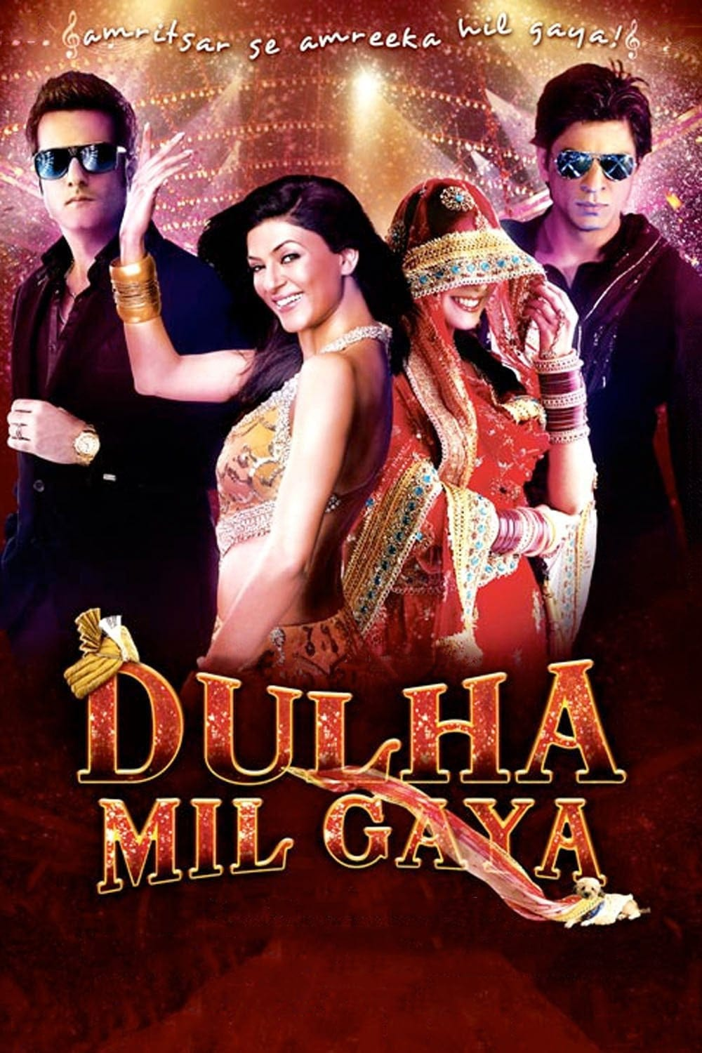 """Poster for the movie """"Dulha Mil Gaya"""""""
