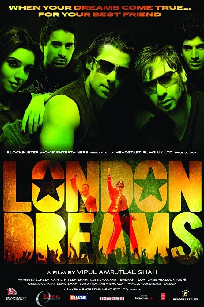 """Poster for the movie """"London Dreams"""""""