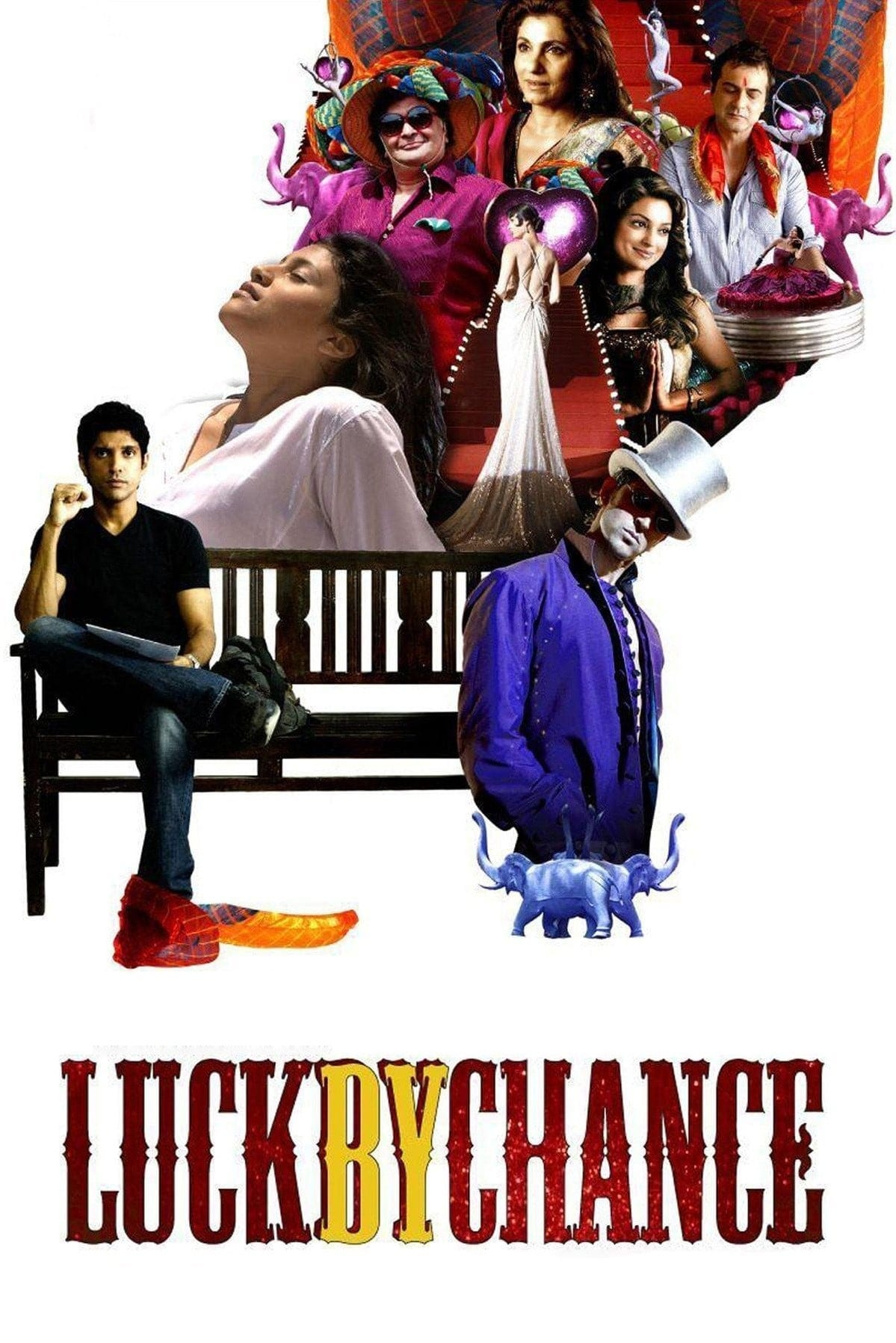 "Poster for the movie ""Luck by Chance"""