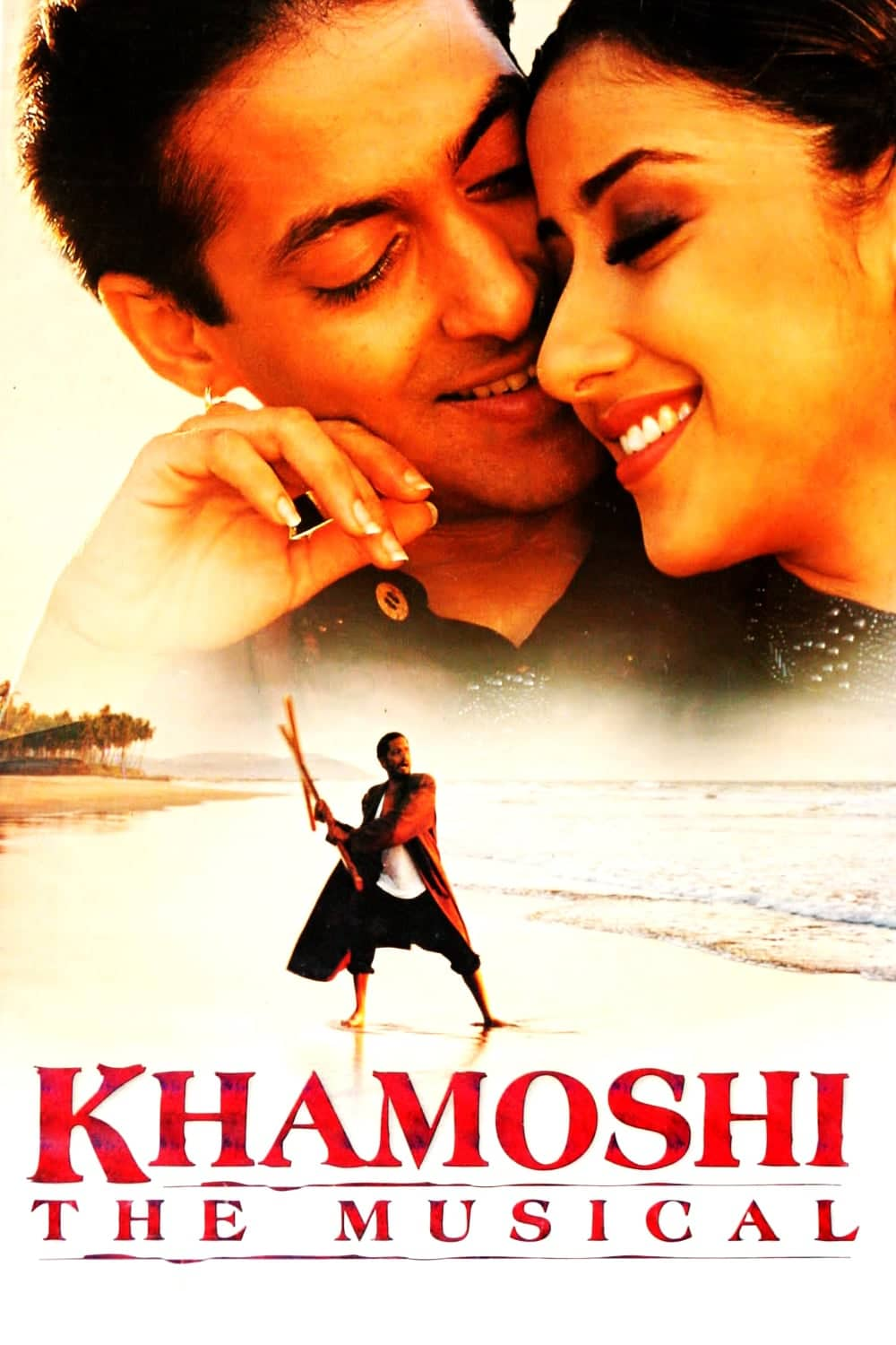 """Poster for the movie """"Khamoshi: The Musical"""""""