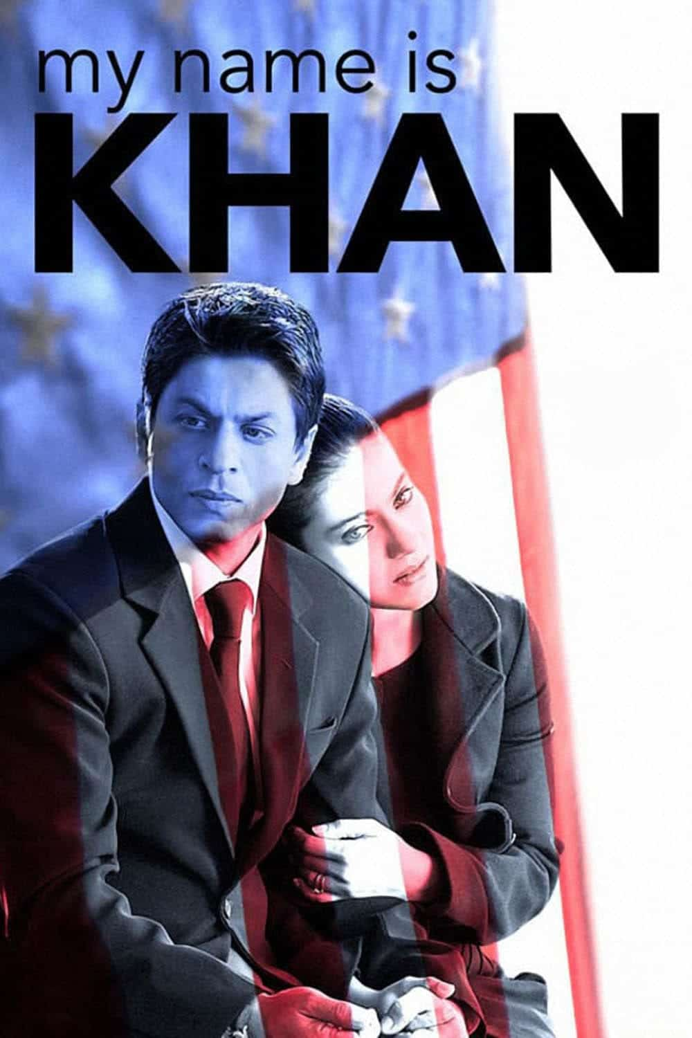 "Poster for the movie ""My Name Is Khan"""