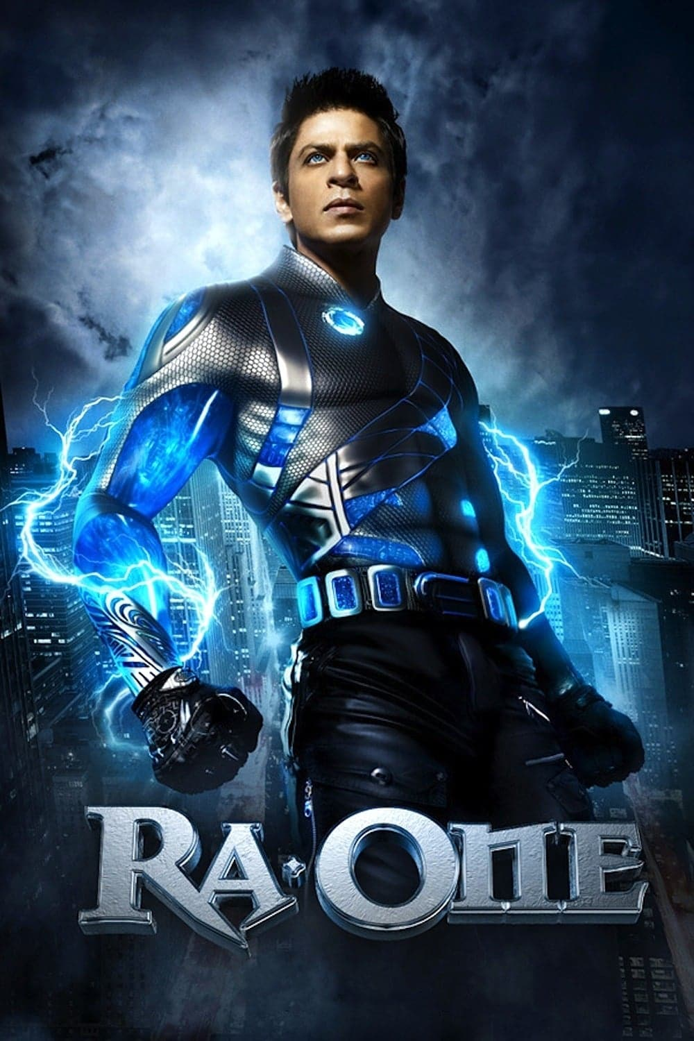 """Poster for the movie """"Ra.One"""""""