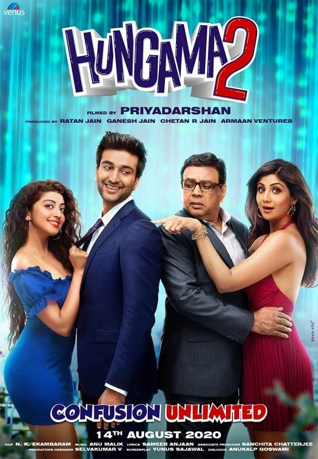 """Poster for the movie """"Hungama 2"""""""