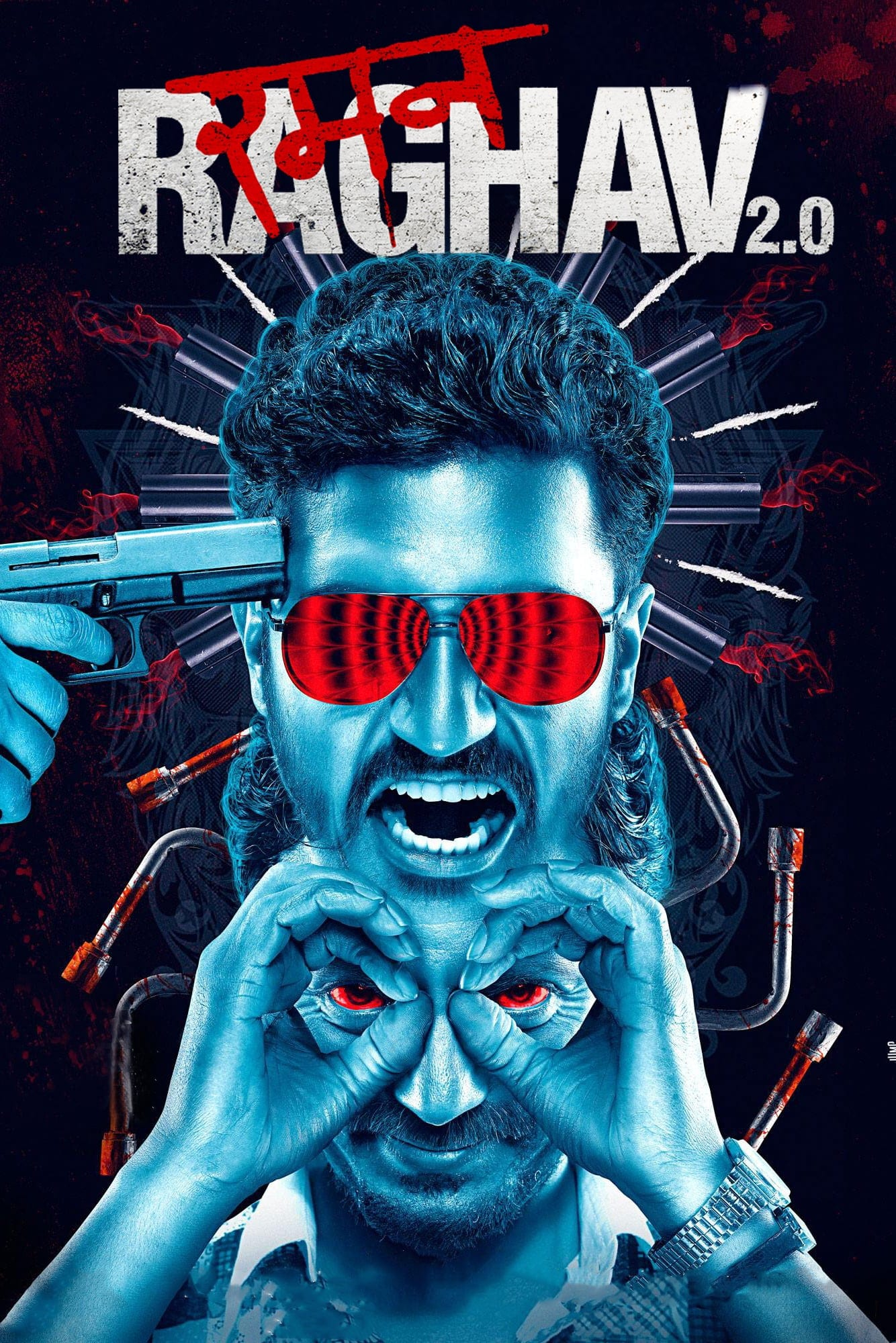 "Poster for the movie ""Raman Raghav 2.0"""