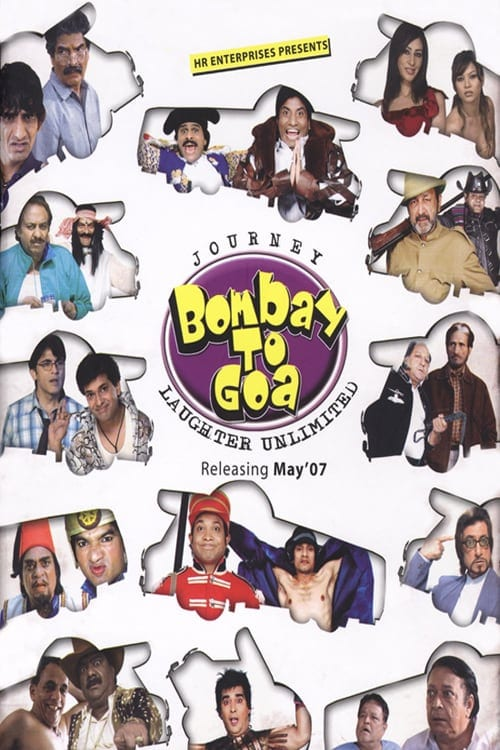"""Poster for the movie """"Journey Bombay to Goa"""""""