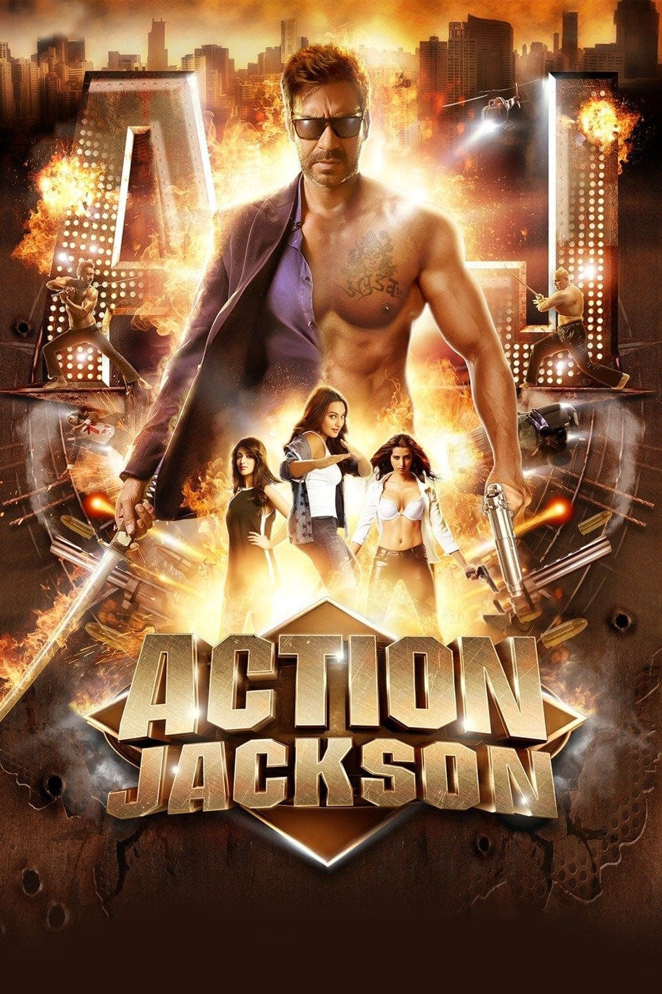 """Poster for the movie """"Action Jackson"""""""