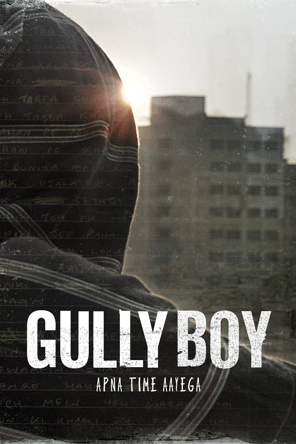 "Poster for the movie ""Gully Boy"""