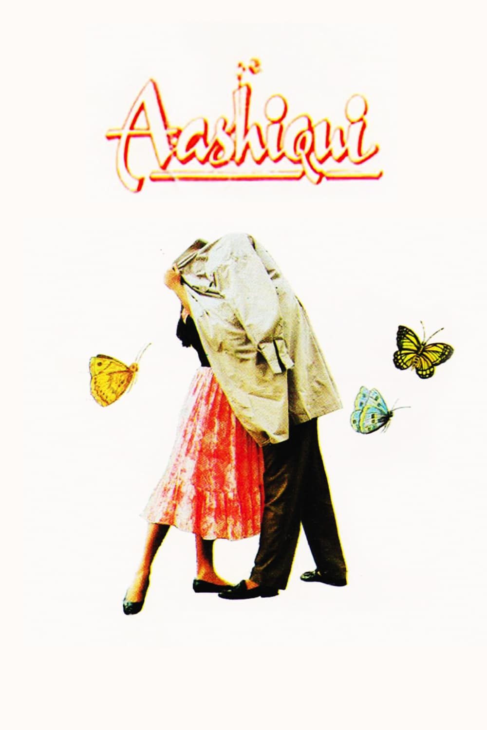 "Poster for the movie ""Aashiqui"""