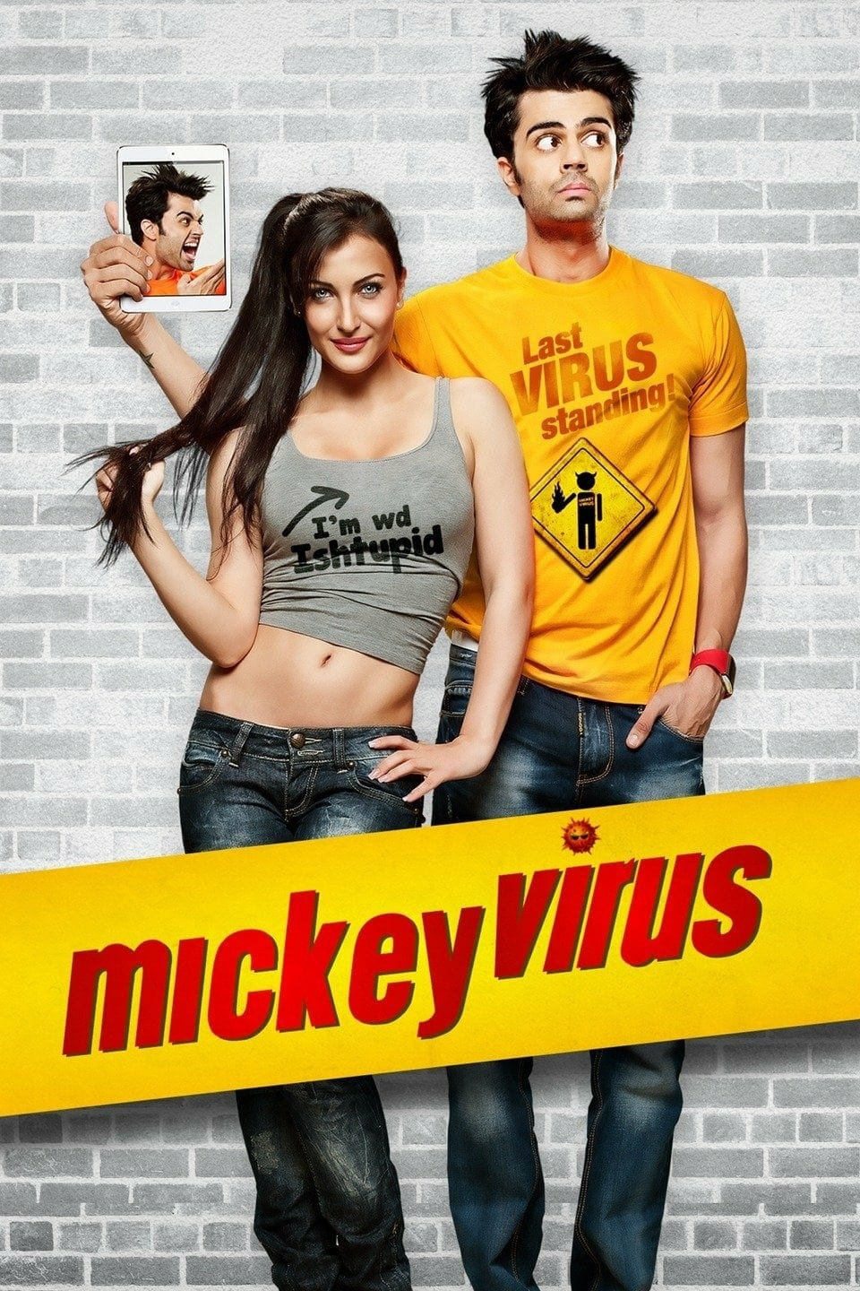 "Poster for the movie ""Mickey Virus"""