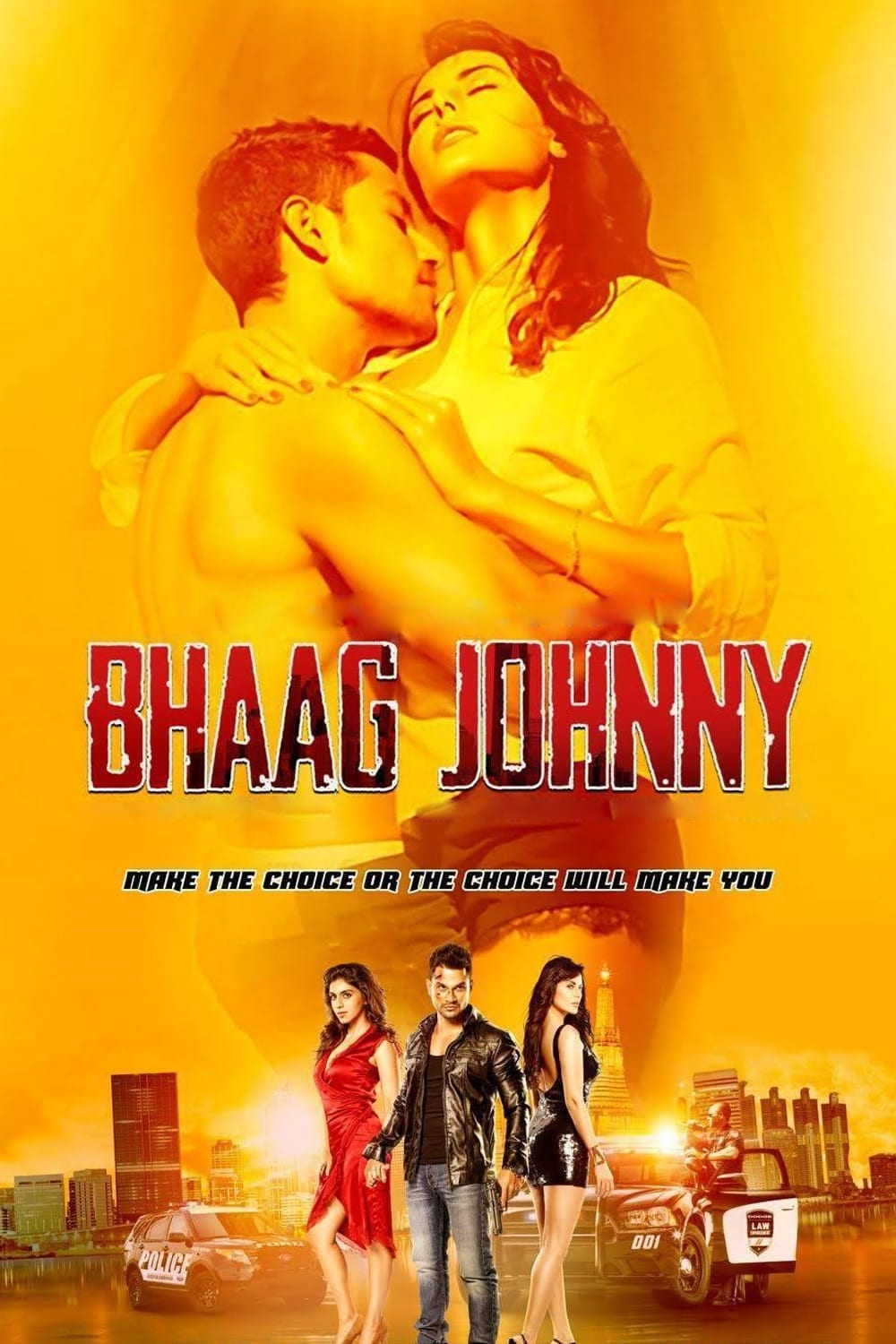 """Poster for the movie """"Bhaag Johnny"""""""