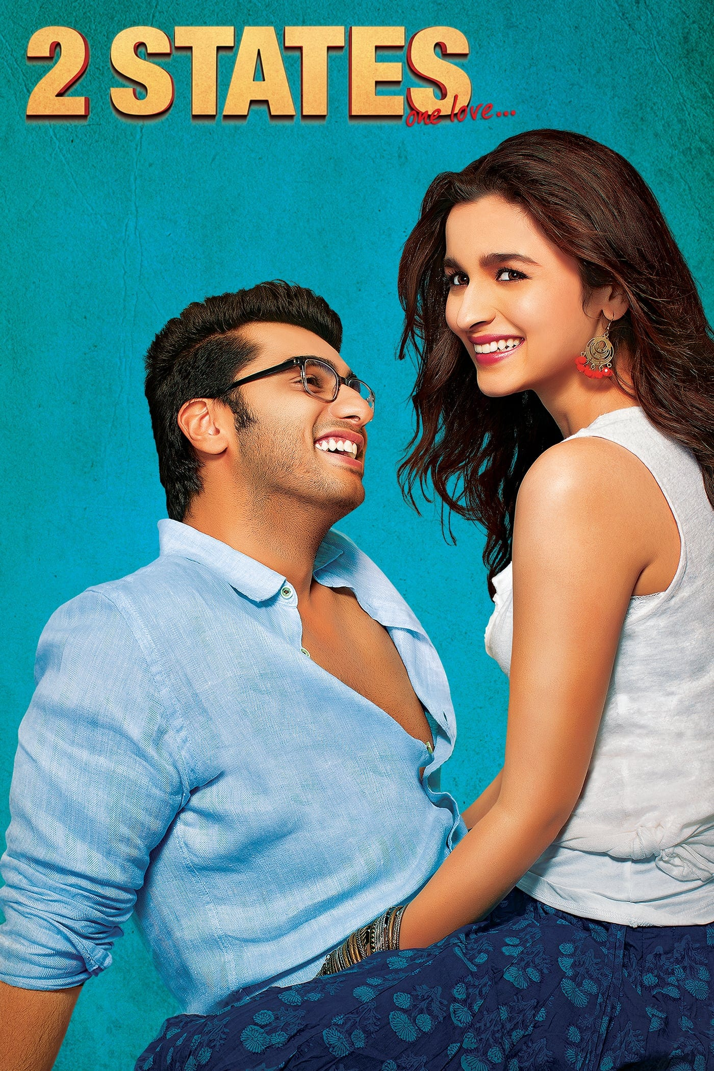 """Poster for the movie """"2 States"""""""