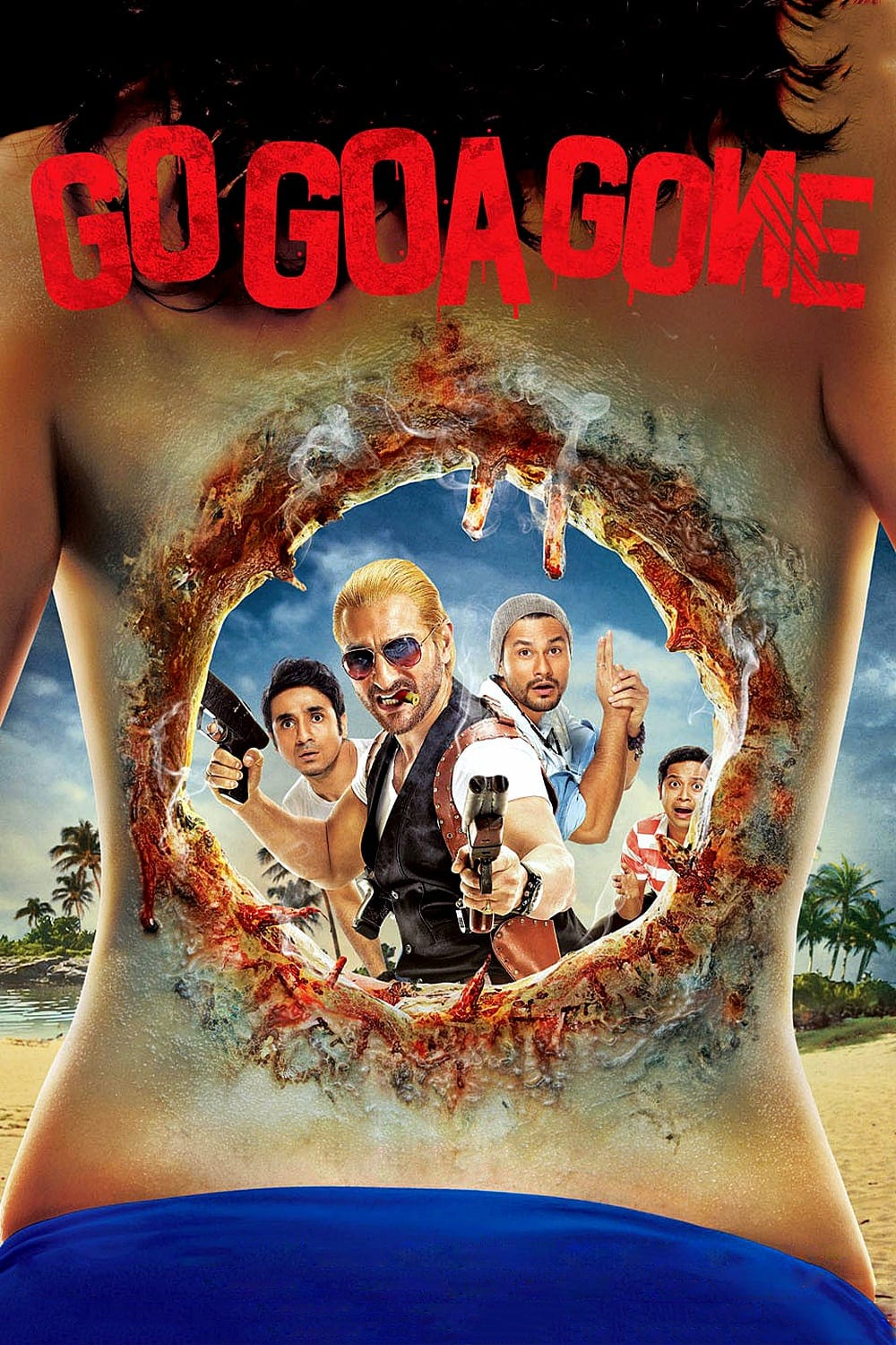 """Poster for the movie """"Go Goa Gone"""""""