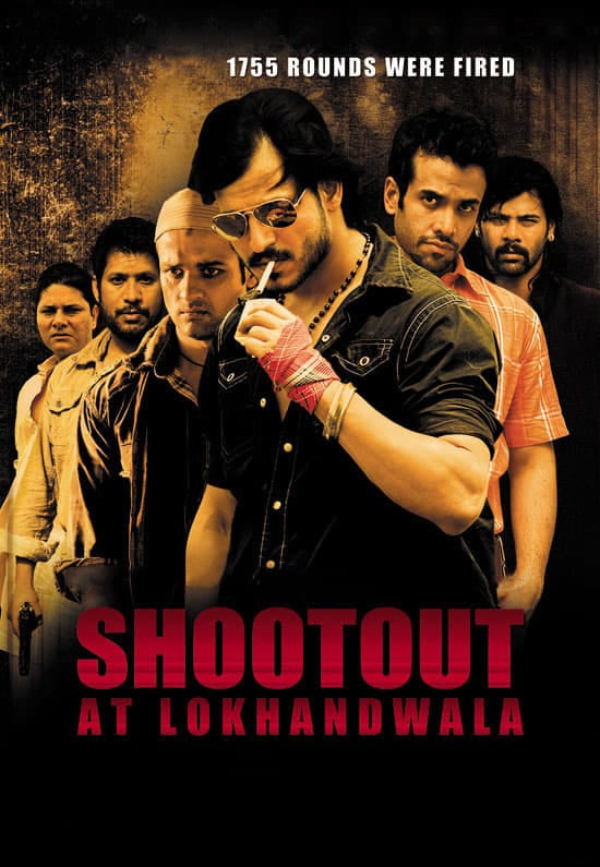 """Poster for the movie """"Shootout at Lokhandwala"""""""