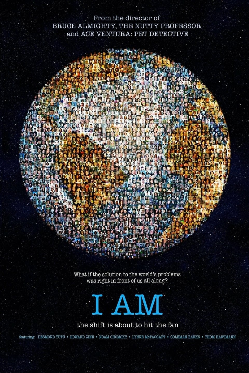 "Poster for the movie ""I Am"""