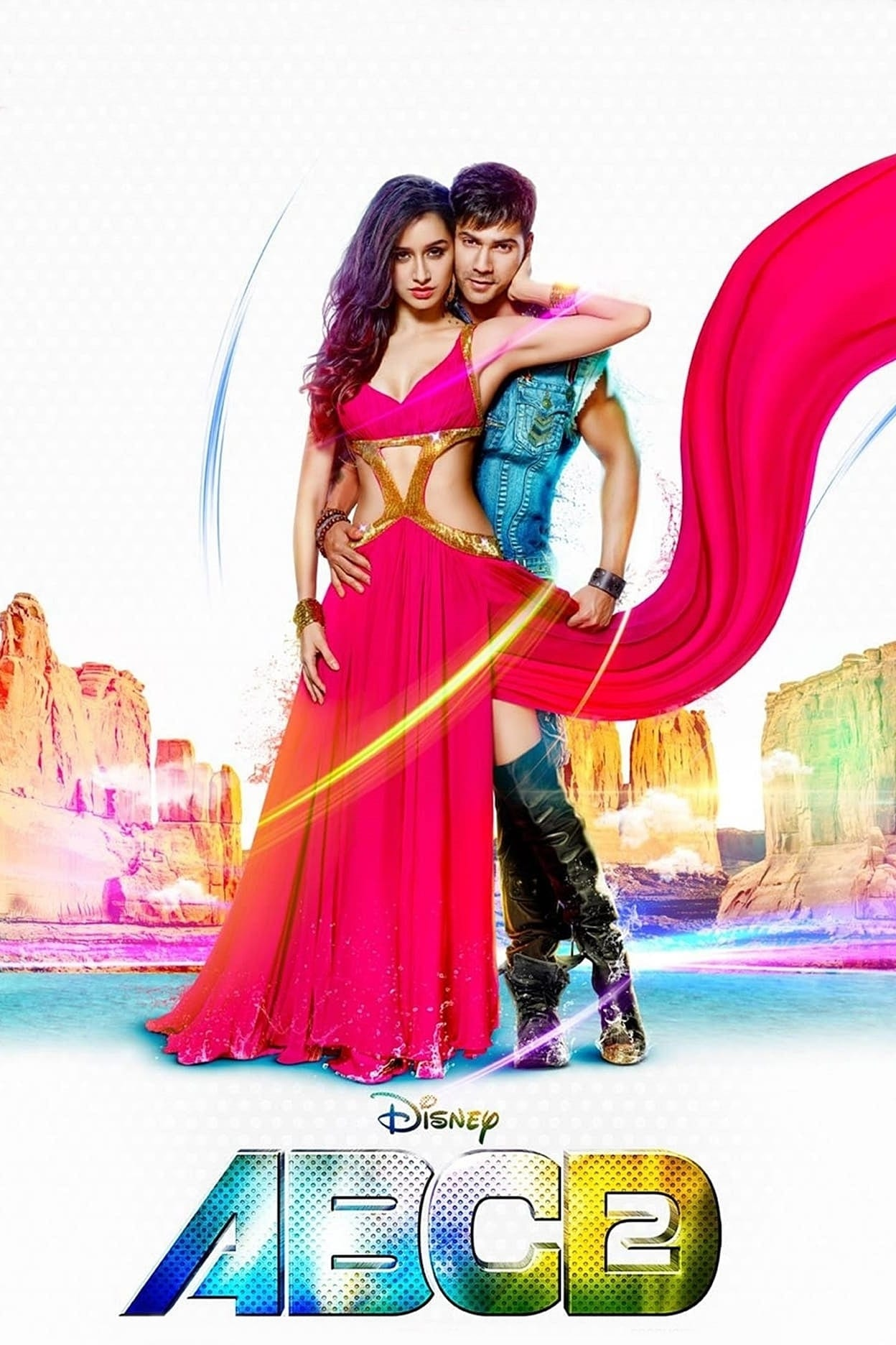"""Poster for the movie """"ABCD 2"""""""