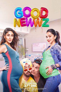 "Poster for the movie ""Good Newwz"""