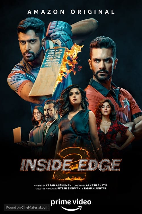 "Poster for the movie ""Inside Edge"""