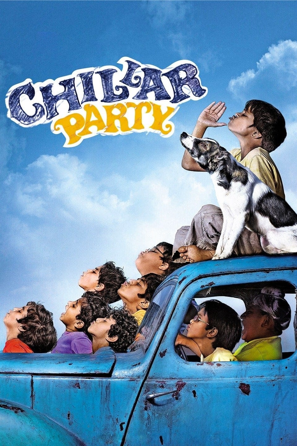 """Poster for the movie """"Chillar Party"""""""