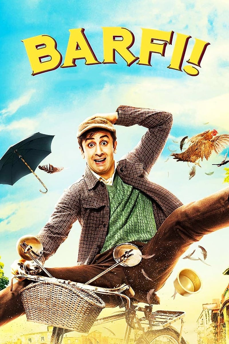 "Poster for the movie ""Barfi!"""