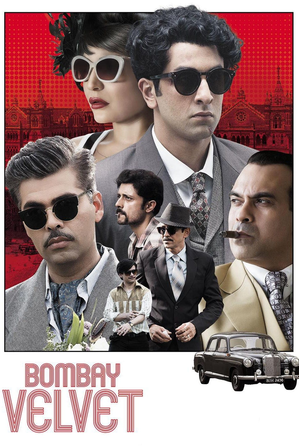 "Poster for the movie ""Bombay Velvet"""