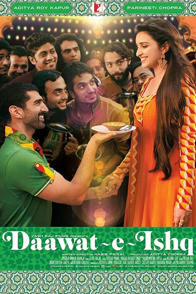 """Poster for the movie """"Daawat-e-Ishq"""""""