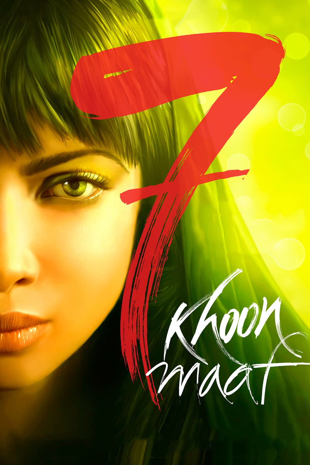 """Poster for the movie """"7 Khoon Maaf"""""""