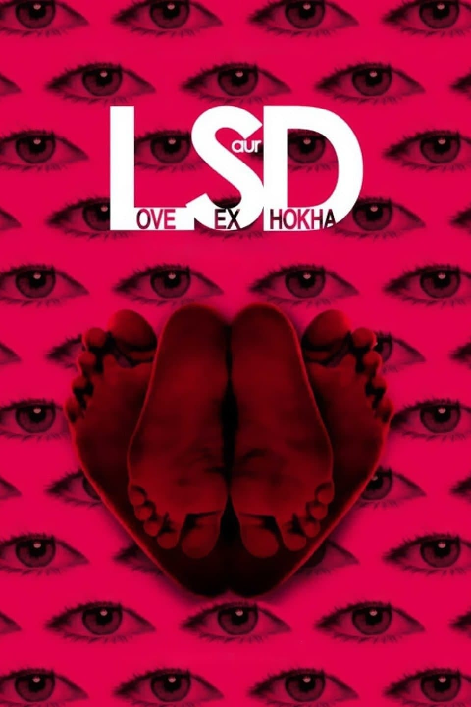 "Poster for the movie ""LSD: Love, Sex aur Dhokha"""