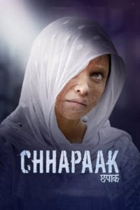 "Poster for the movie ""Chhapaak"""