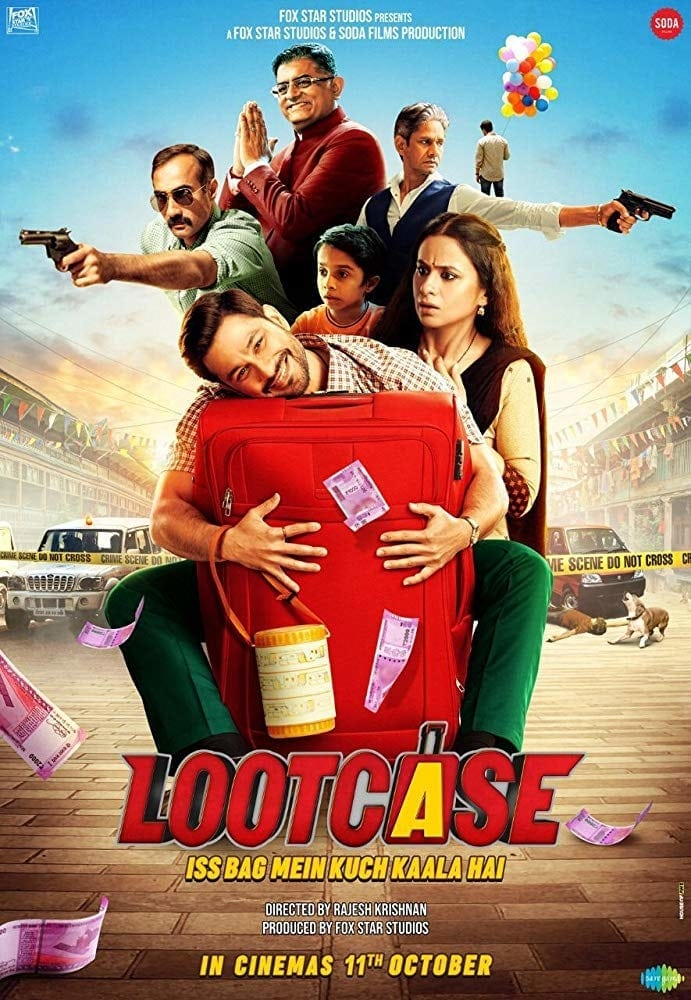 "Poster for the movie ""Lootcase"""