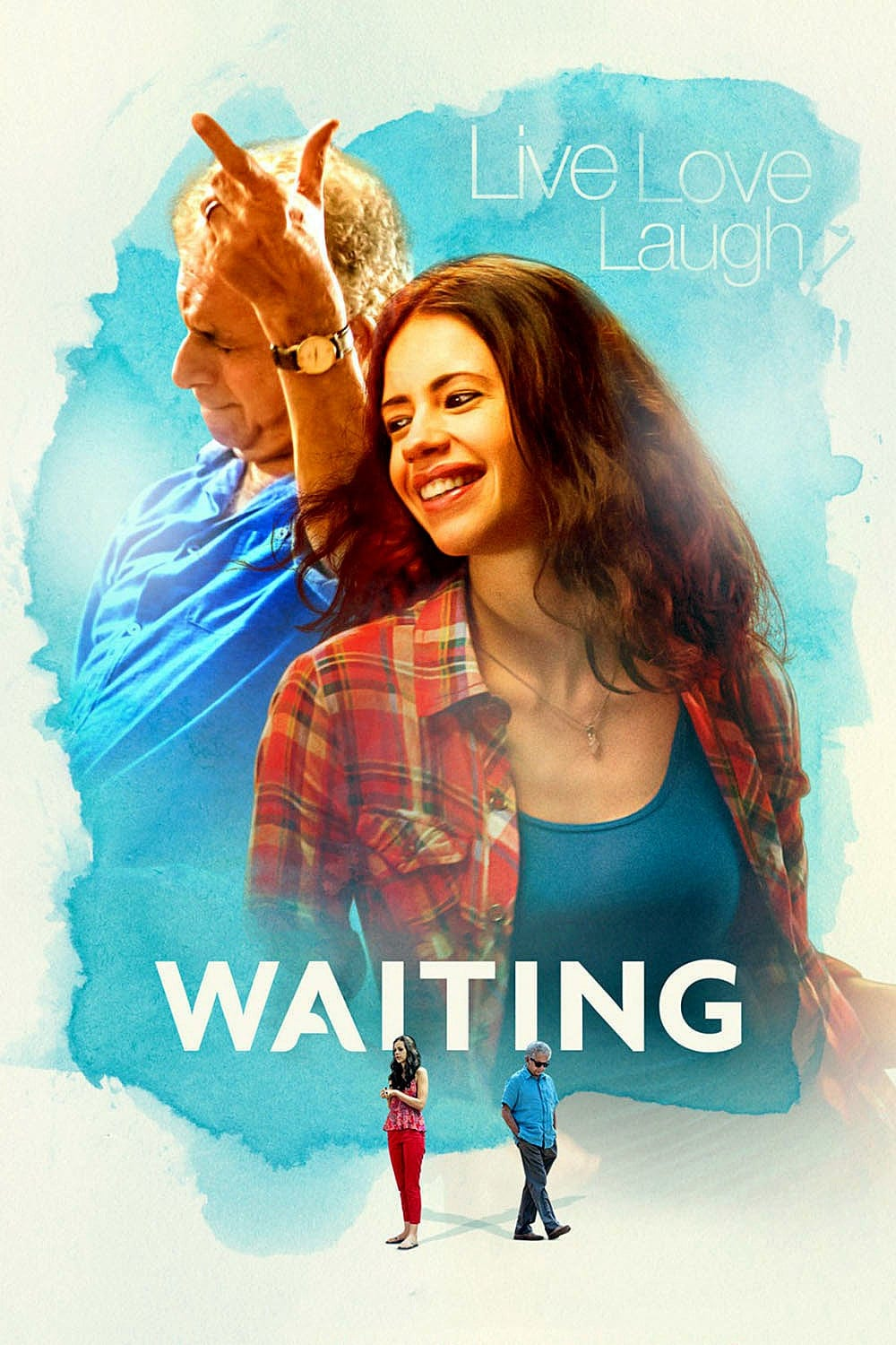 "Poster for the movie ""Waiting"""