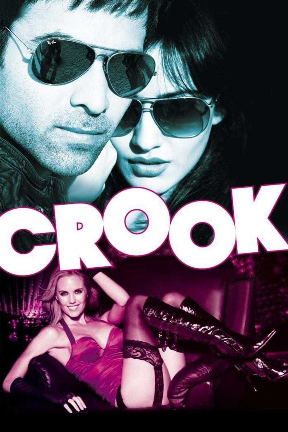 "Poster for the movie ""Crook"""
