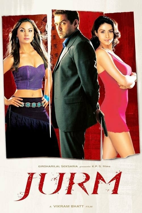 "Poster for the movie ""Jurm"""