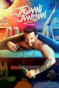 "Poster for the movie ""Jawaani Jaaneman"""