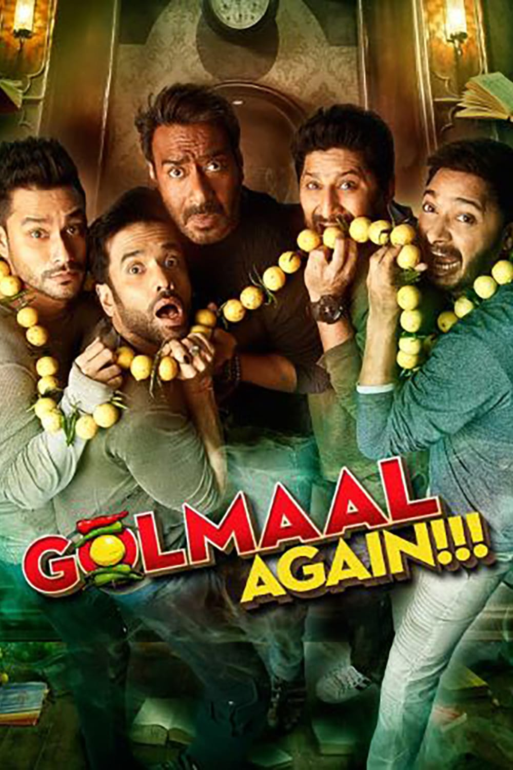 """Poster for the movie """"Golmaal Again"""""""