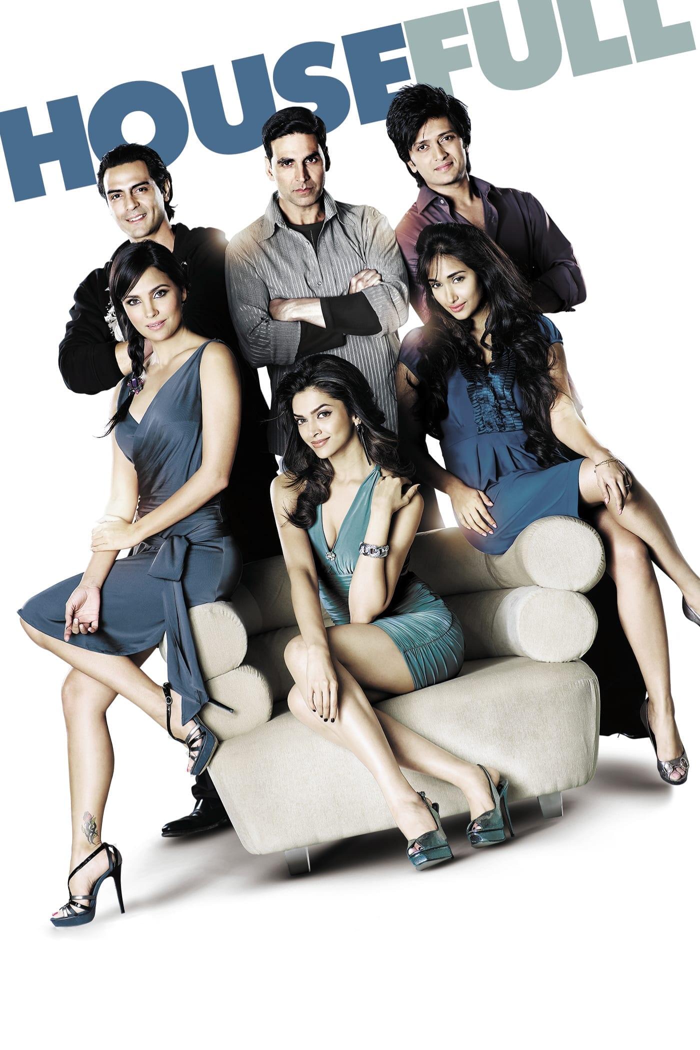 "Poster for the movie ""Housefull"""