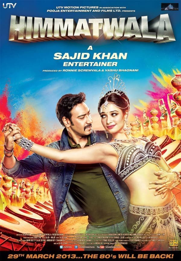 """Poster for the movie """"Himmatwala"""""""