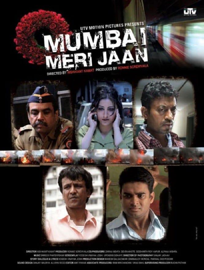 "Poster for the movie ""Mumbai Meri Jaan"""