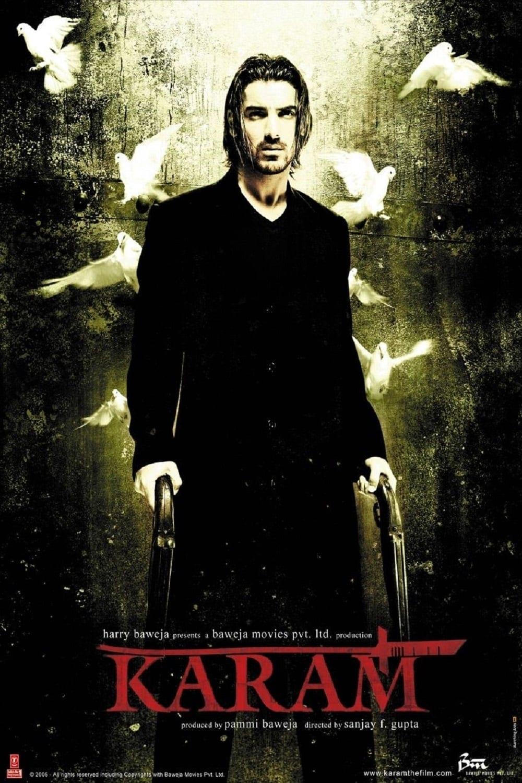"""Poster for the movie """"Karam"""""""