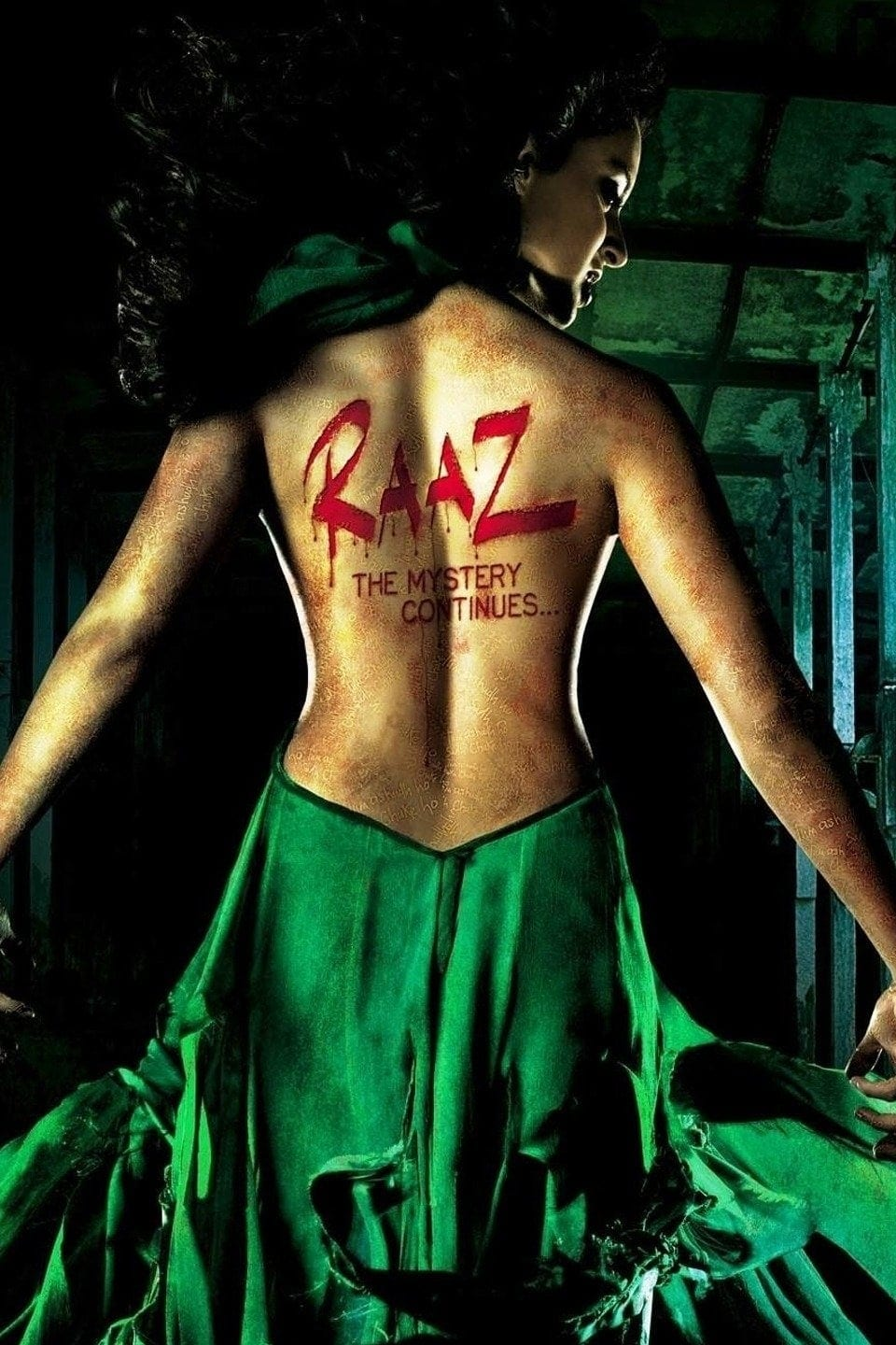 "Poster for the movie ""Raaz: The Mystery Continues..."""
