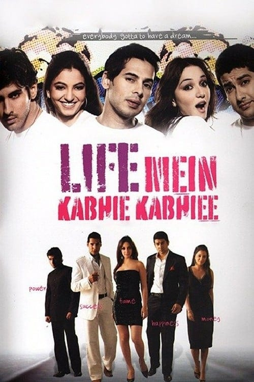 "Poster for the movie ""Life Mein Kabhie Kabhiee"""