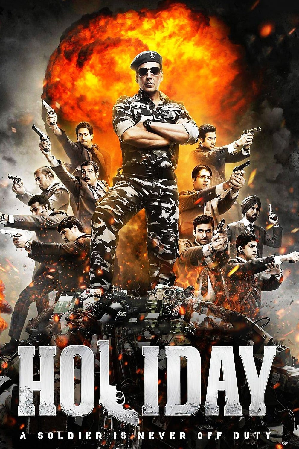 "Poster for the movie ""Holiday"""