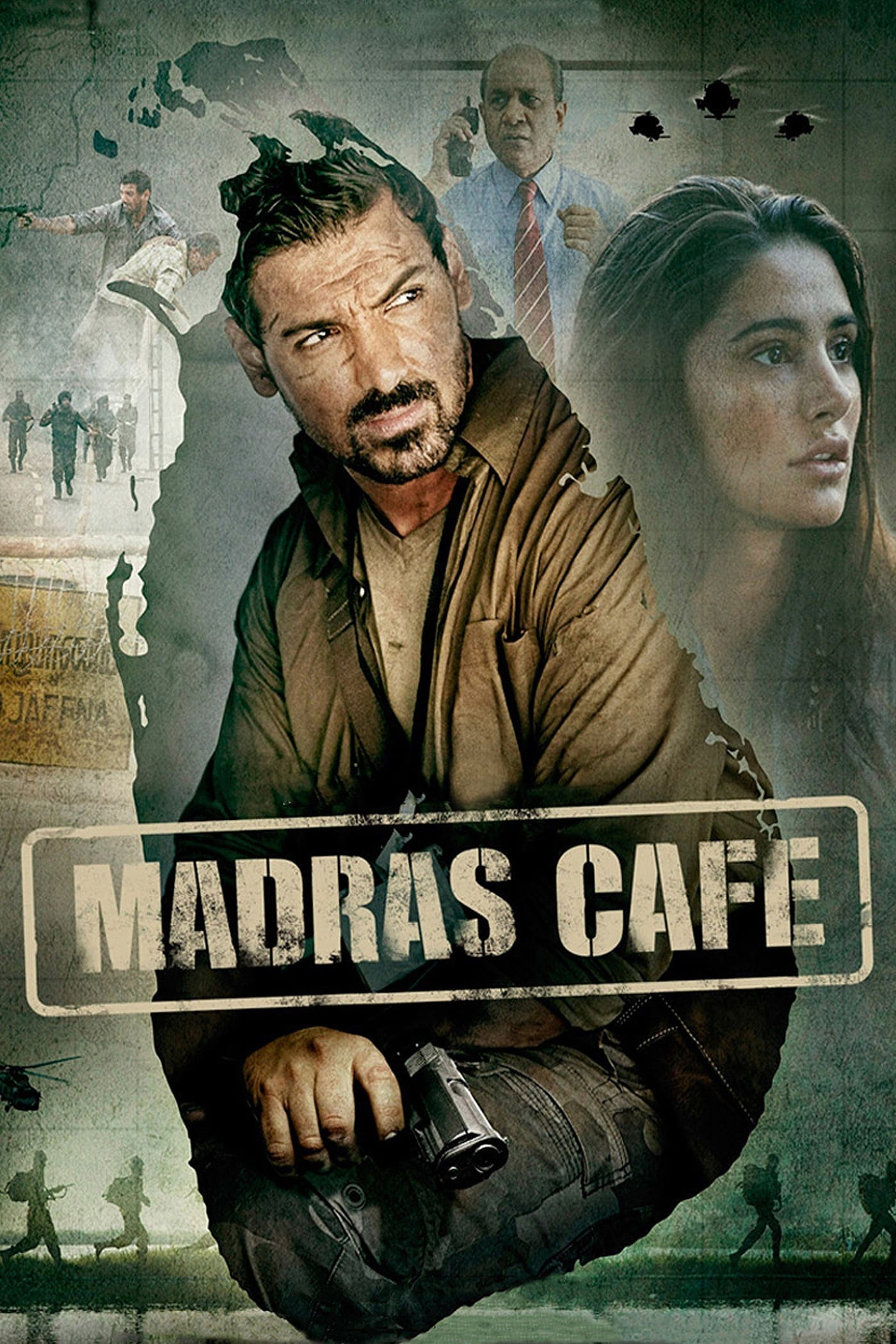 """Poster for the movie """"Madras Cafe"""""""