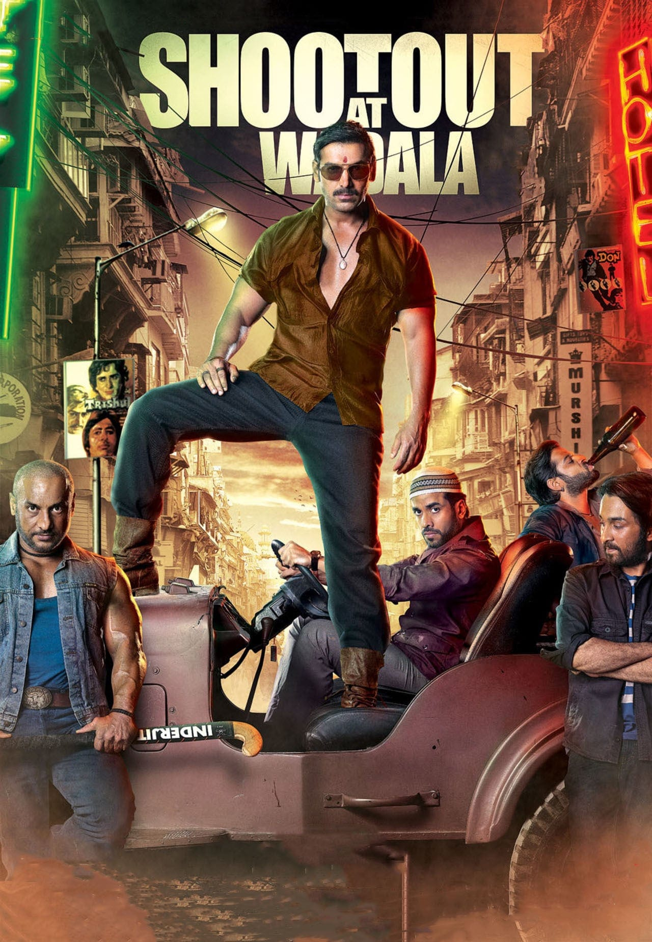 "Poster for the movie ""Shootout at Wadala"""