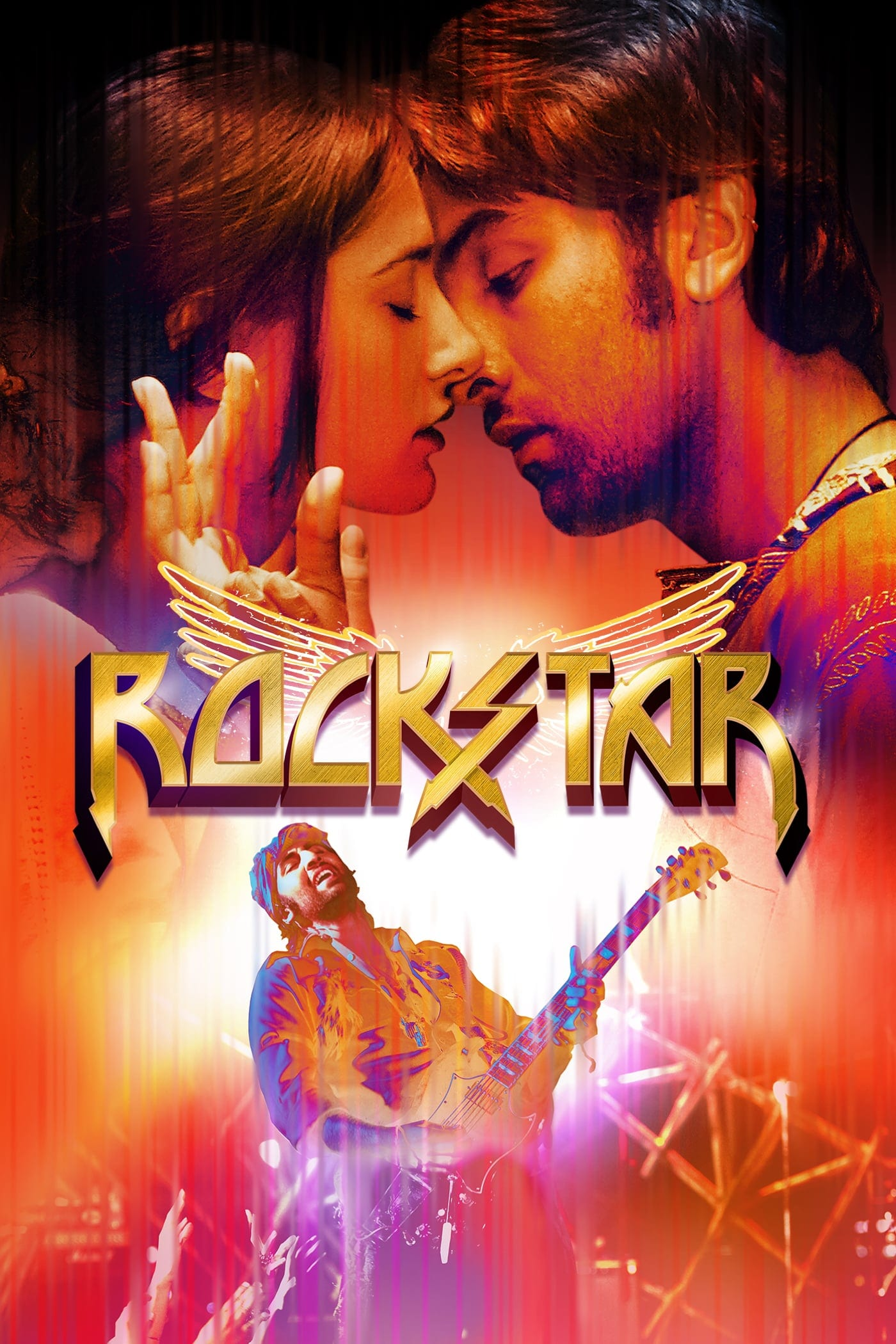 "Poster for the movie ""Rockstar"""