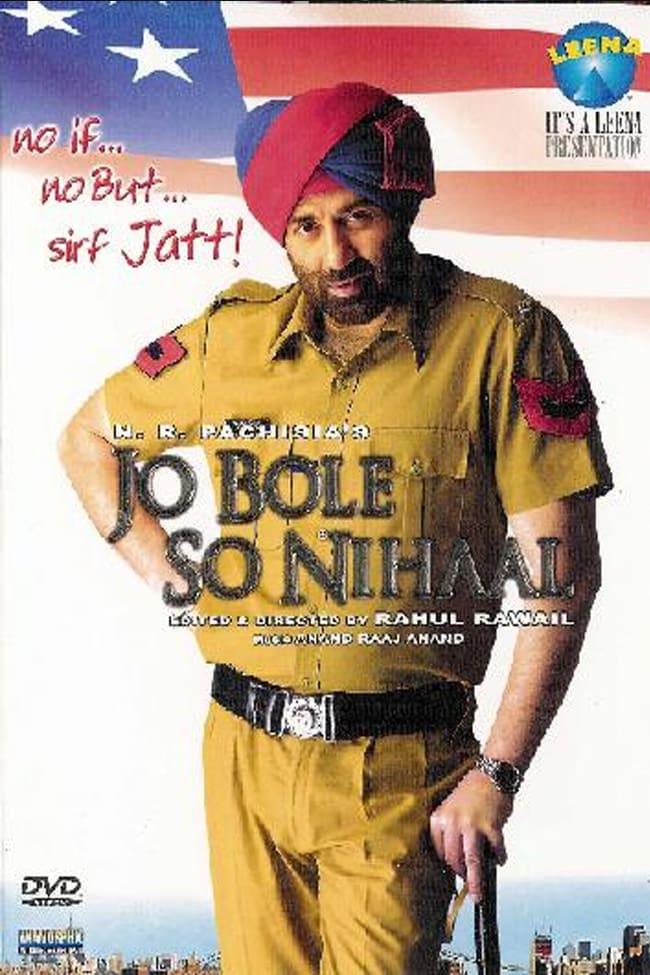 "Poster for the movie ""Jo Bole So Nihaal"""
