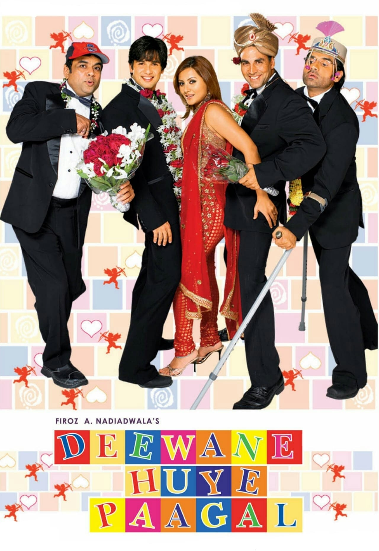 "Poster for the movie ""Deewane Huye Paagal"""