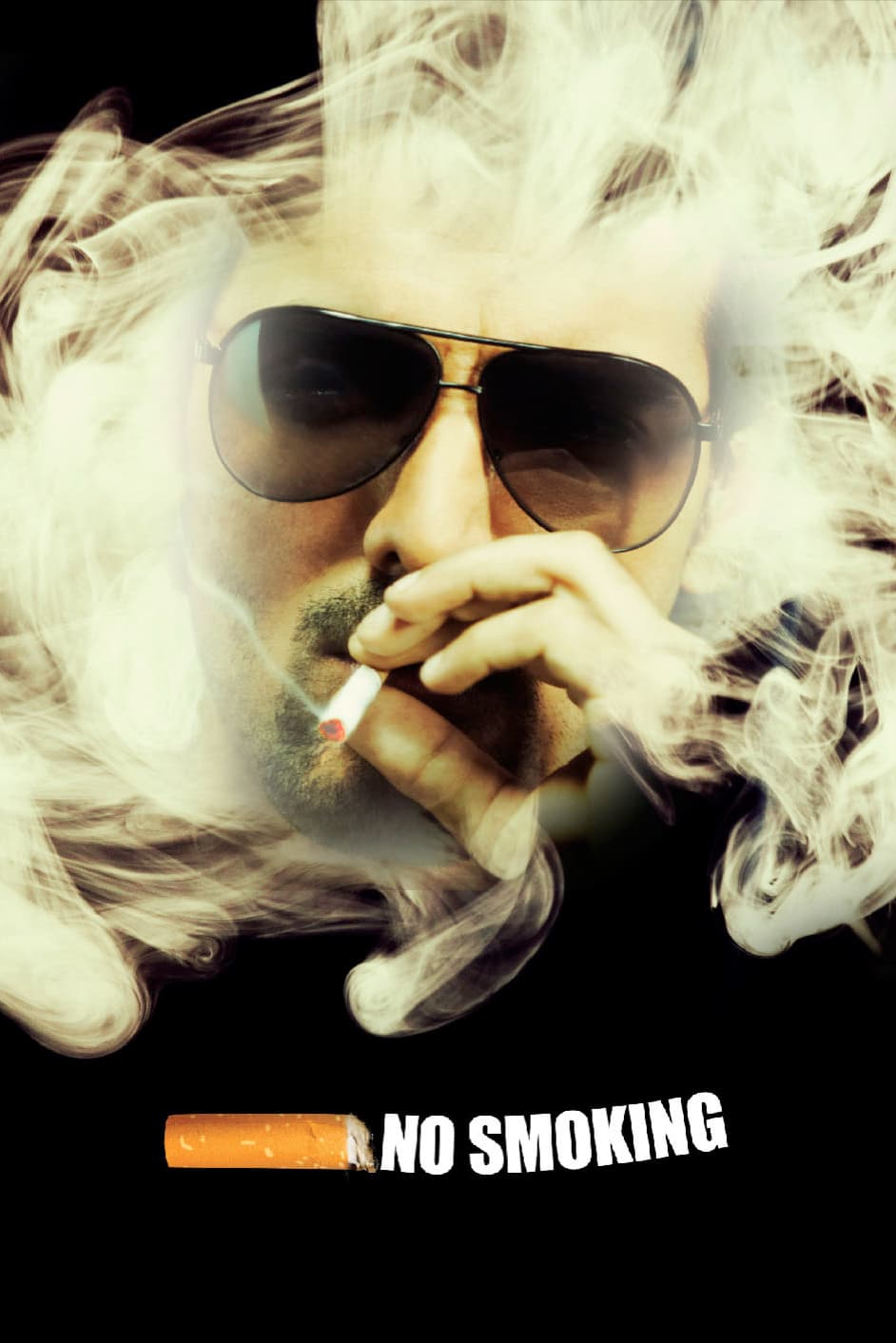 "Poster for the movie ""No Smoking"""