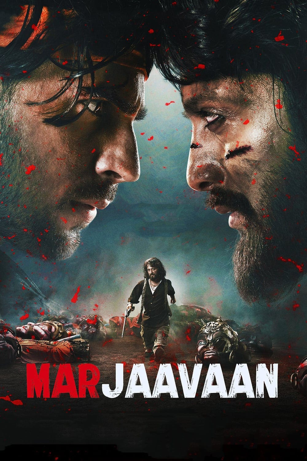 "Poster for the movie ""Marjaavaan"""