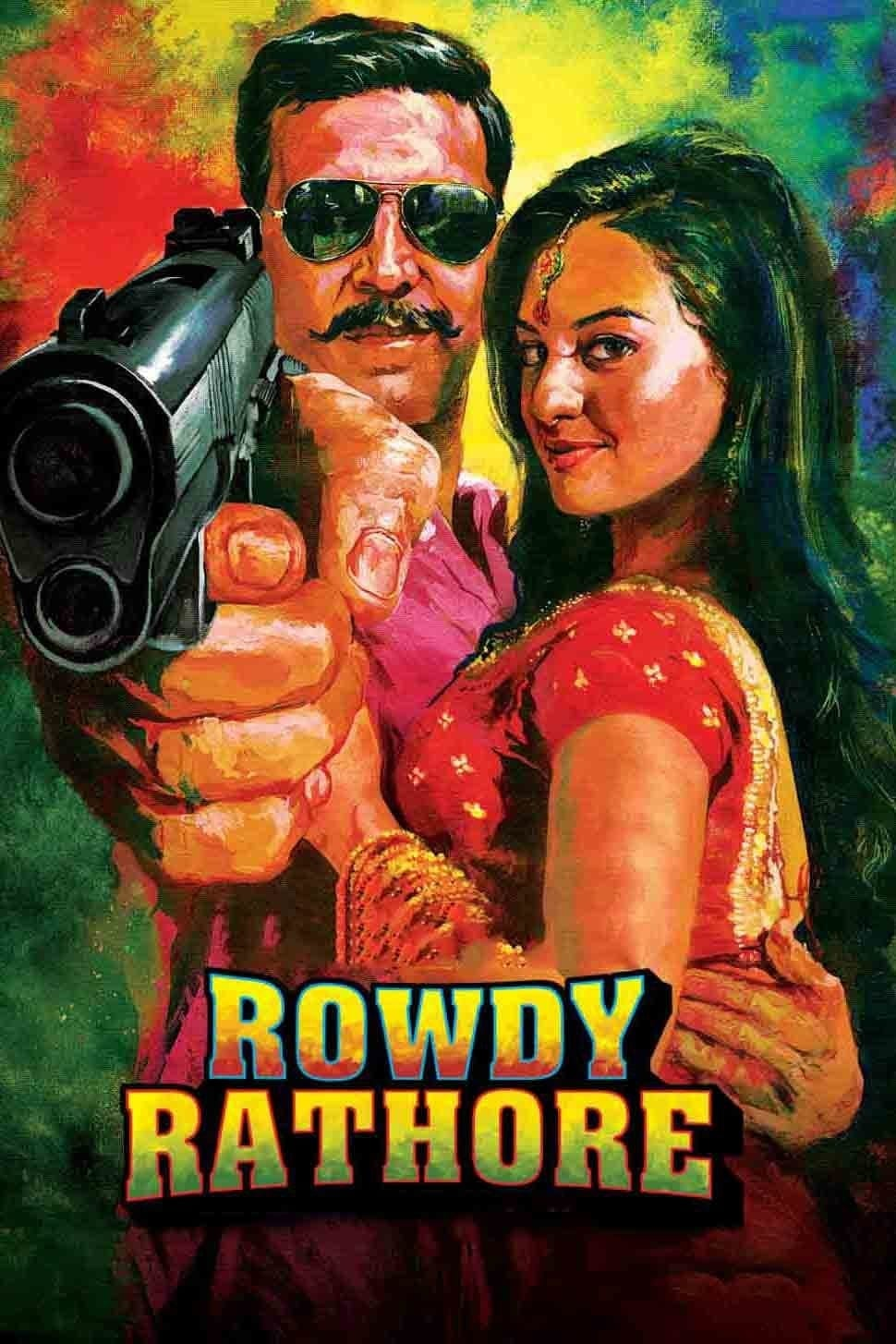 """Poster for the movie """"Rowdy Rathore"""""""